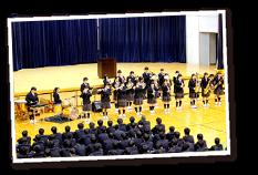 高校2月行事イメージ