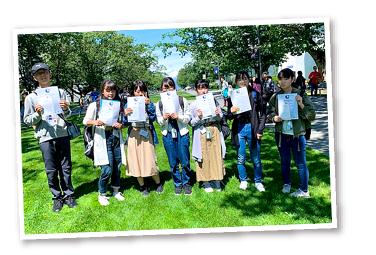 中学校7月行事イメージ