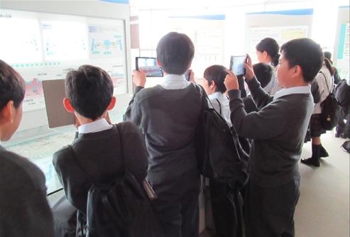 中学:沼の教室イメージ