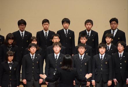 中学:合唱祭イメージ